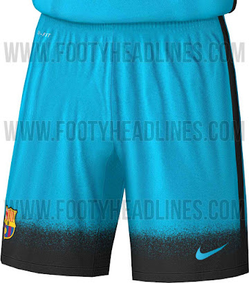 9c0ad51291779 FC Barcelona will be the only team to debut the striking new Nike 2015-2016  'Night Rising' Kit next week