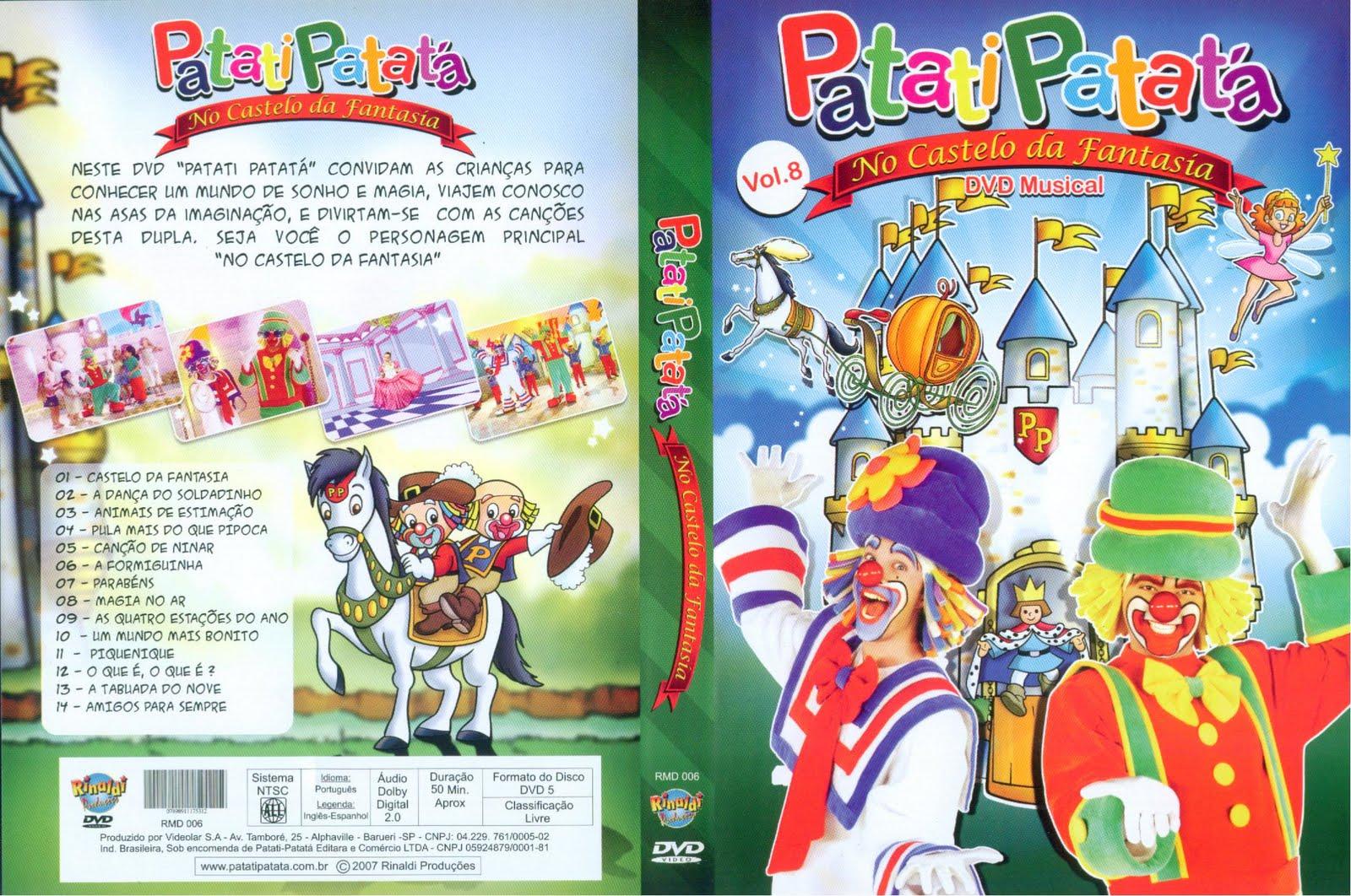 dvd do patati patata 2011