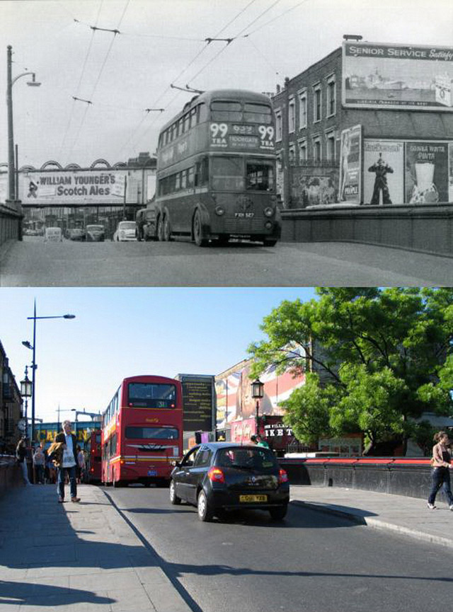 Camden Town: 'Then And Now' Of London: 27 Incredible Pictures Show The