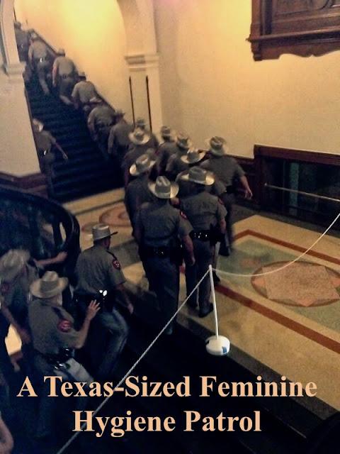 A Texas-Sized Feminine Hygiene Patrol