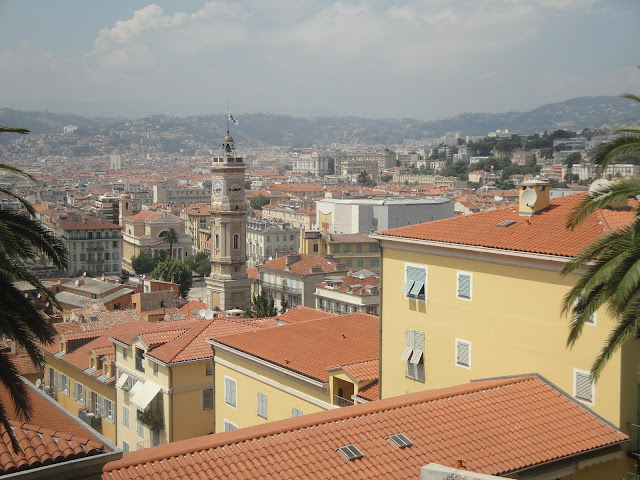 Torre de Saint François vista da colina du Chatêau - Nice - França