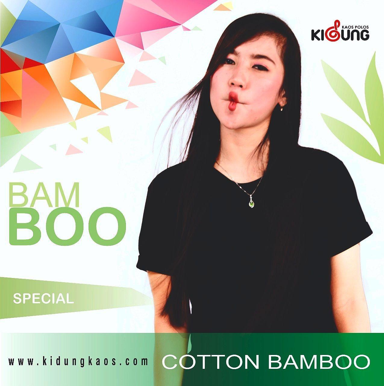Kaos Polos Bamboo