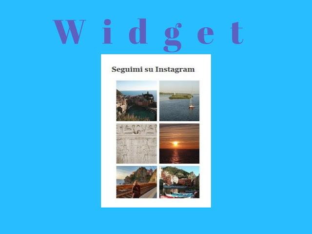 Come inserire un widget di Instagram su Blogger