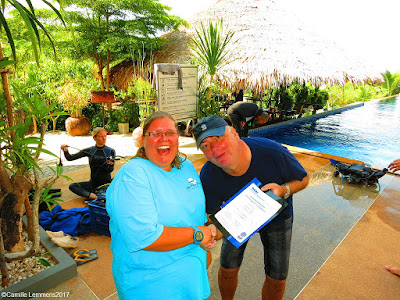 Testimonial by Christine Dietz of the January 2017 PADI IDC on Koh Lanta, Thailand