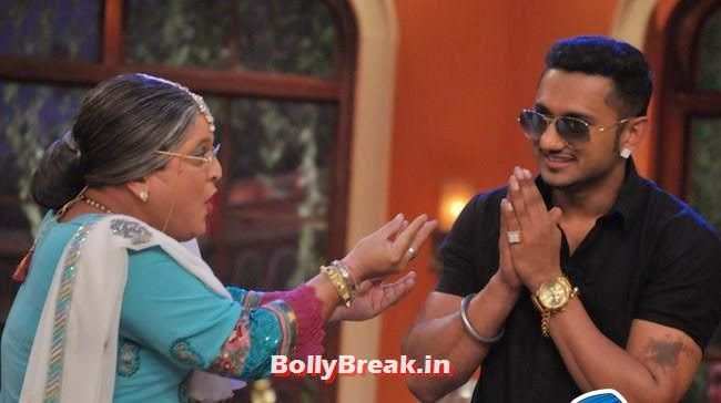 Ali Asgar and Honey Singh, Honey Singh on Comedy Nights With Kapil