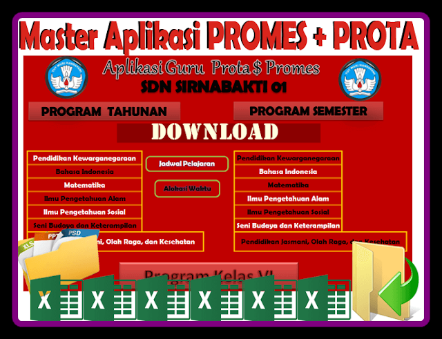 Aplikasi Pembuat Prota Dan Promes Kurikulum 2013 Revisi