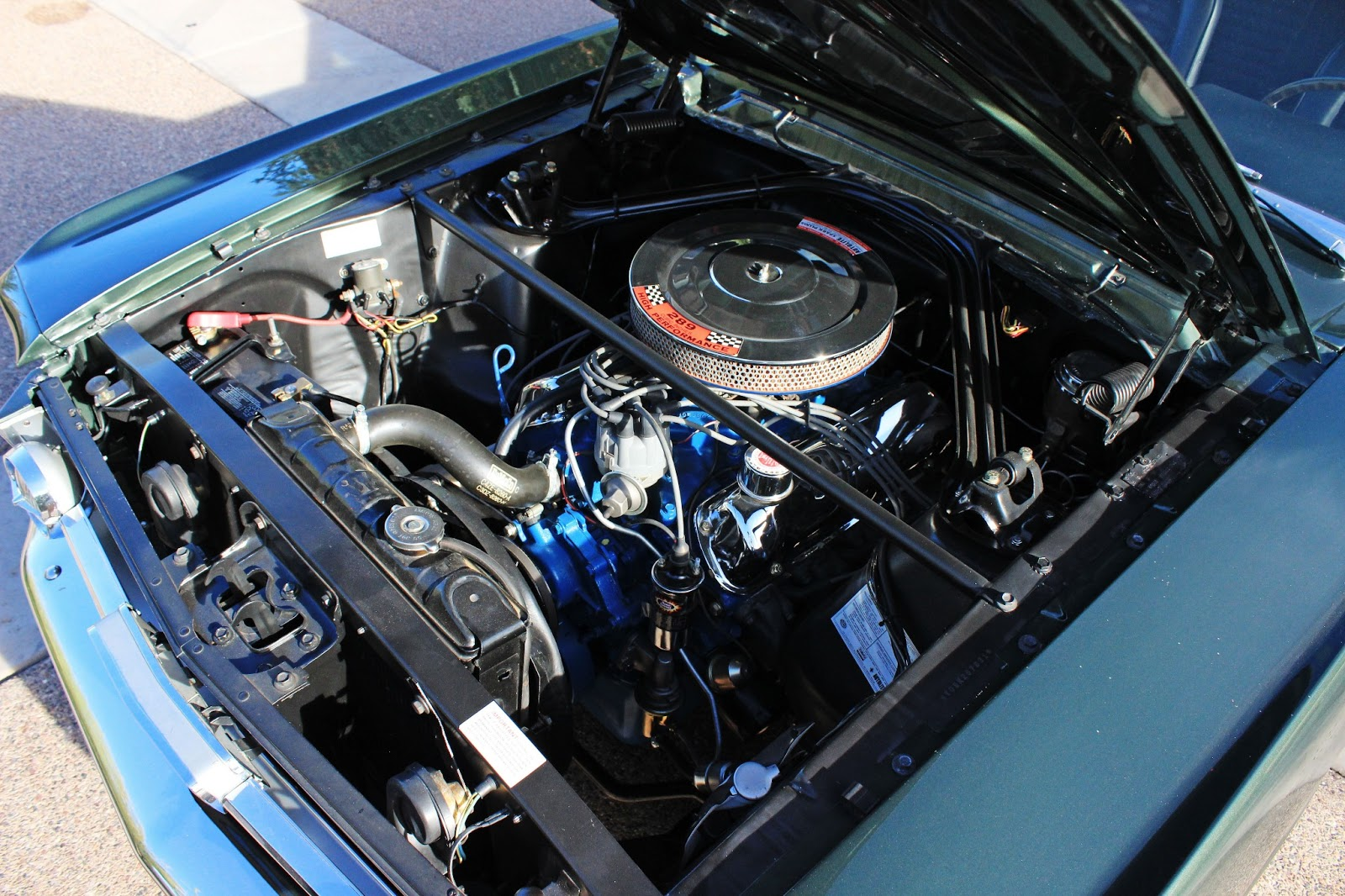 Virginia Classic Mustang Blog: 1966 Mustang 289 HiPo K Code