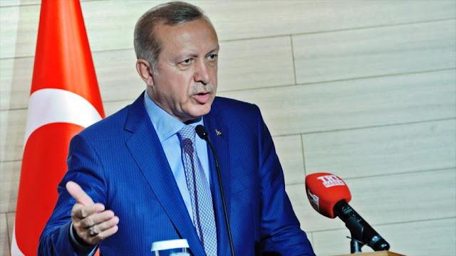 Erdogan pide a la OTAN que no deje sola a Turquía ante los terroristas