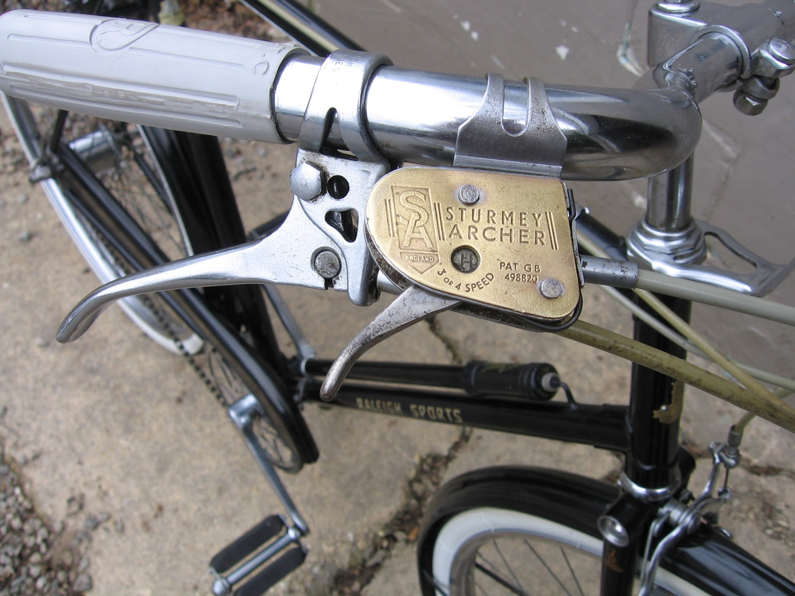The Bike Shed: 1958 Raleigh Sports Four Speed