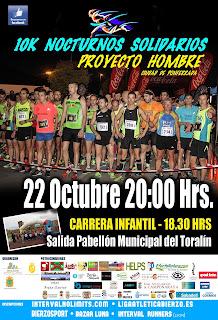 10 km nocturnos solidarios Ponferrada