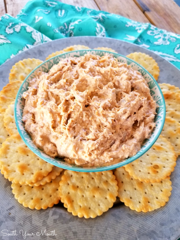 Cajun Crab Dip! Kick your party up a notch with this fun but simple Cajun spread recipe made with crab meat - serve hot or cold!