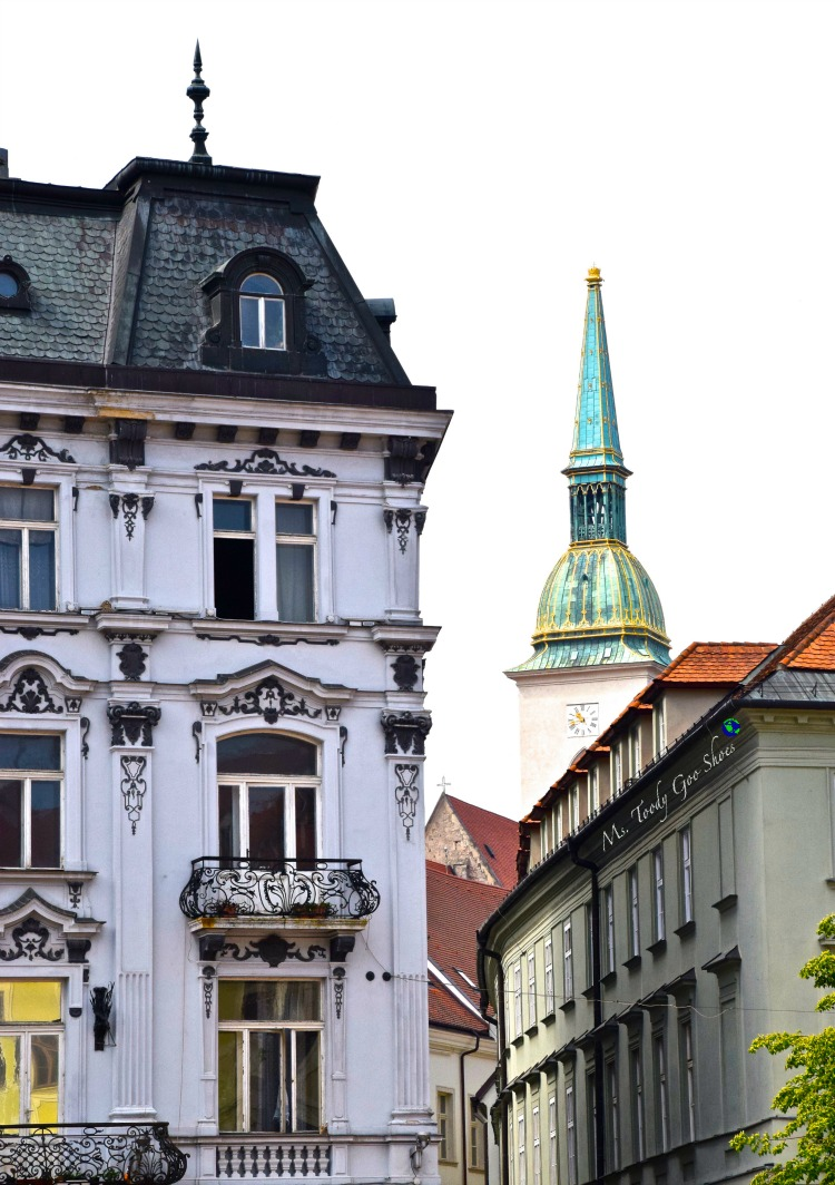 Bratislava's medieval Old Town is sure to charm it's visitors | Ms. Toody Goo Shoes #bratislava #slovakia #danuberivercruise
