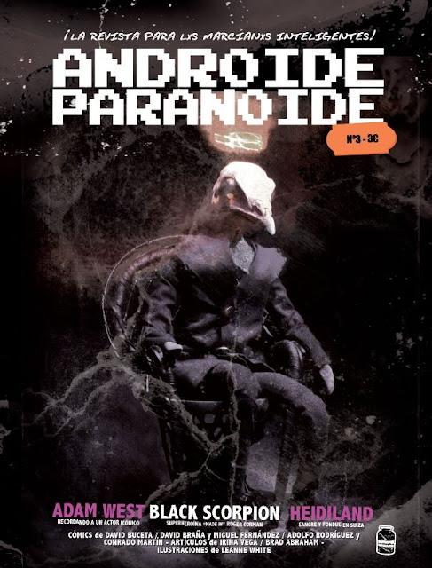 Portada del tercer número de Androide Paranoide