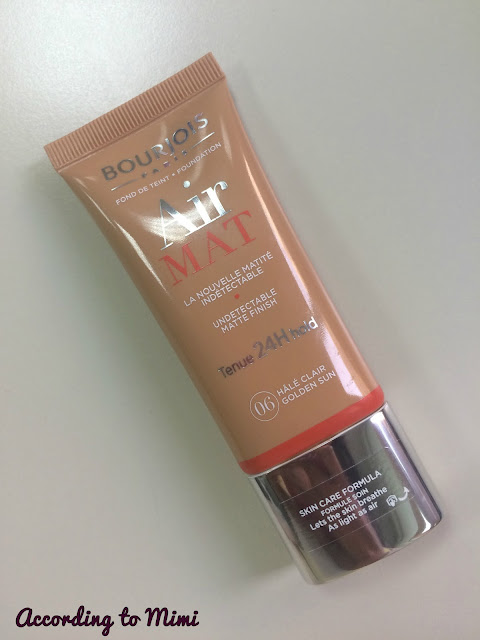 Bourjois Air Mat foundation in 06 Golden Sun