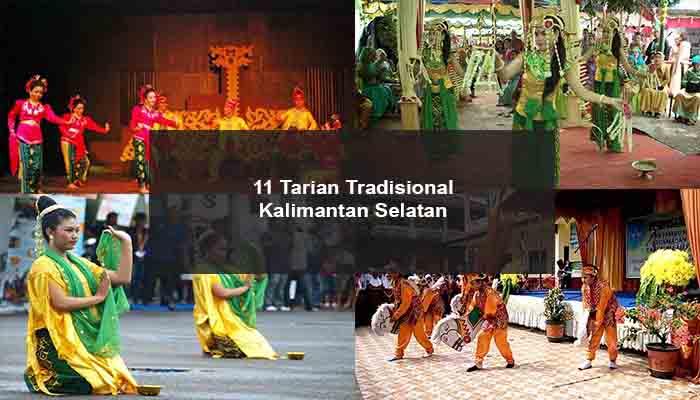 Inilah 11 Tarian Tradisional Dari Kalimantan Selatan Dan Penjelasannya