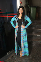 Megha Akash in a beautiful Anarkali dress with Long Jacket at LIE success meet ~  Exclusive Celebrities Galleries 025.JPG