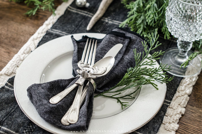 Deer Inspired Placesetting