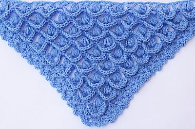2 - Crochet IMAGEN Punto para chal muy fácil y sencillo. MAJOVEL CROCHET