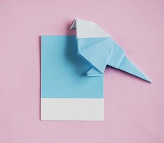 cara membuat hiasan dinding ruangan kelas dari kertas origami