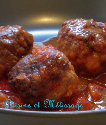 albondigas boulettes de viande espagnoles