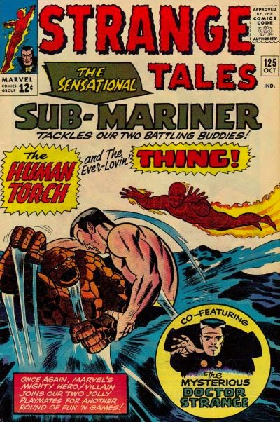 Strange Tales #125, The Thing, Hmman Torch and Sub-Mariner