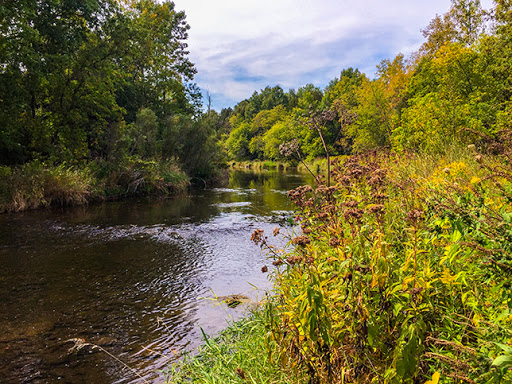 Kewaunee River on the Ahnapee State Trail