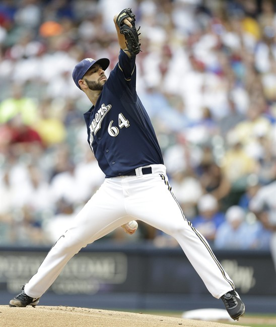 Mike Fiers Vs Houston: Mike Fiers Brewers