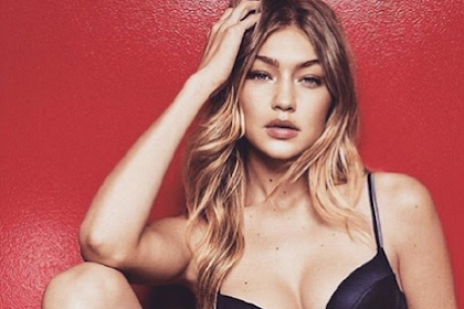 Gigi Hadid strips to lingerie for Tommy Hilfiger Campaign