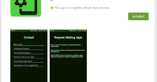 Request Making Apps