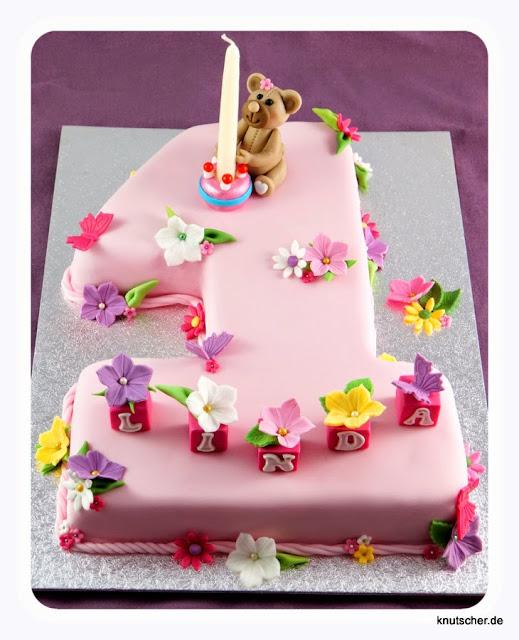 Torte 1 Geburtstag Madchen Rezept Hylen Maddawards Com