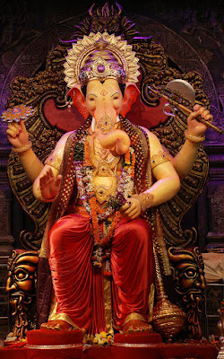 Latest 2017 - 2018: Lalbaugcha Raja in Mumbai HD Images, Pictures