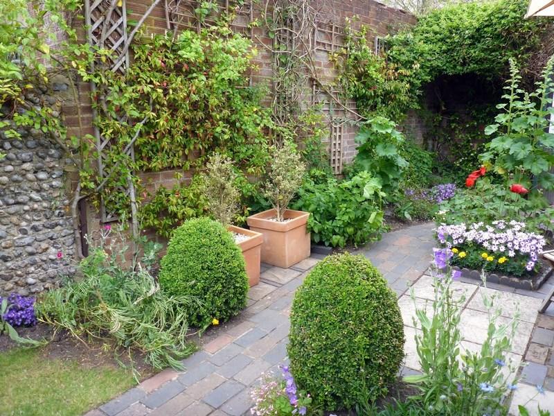 Los jardines traseros de ambrose place en worthing for Jardines traseros