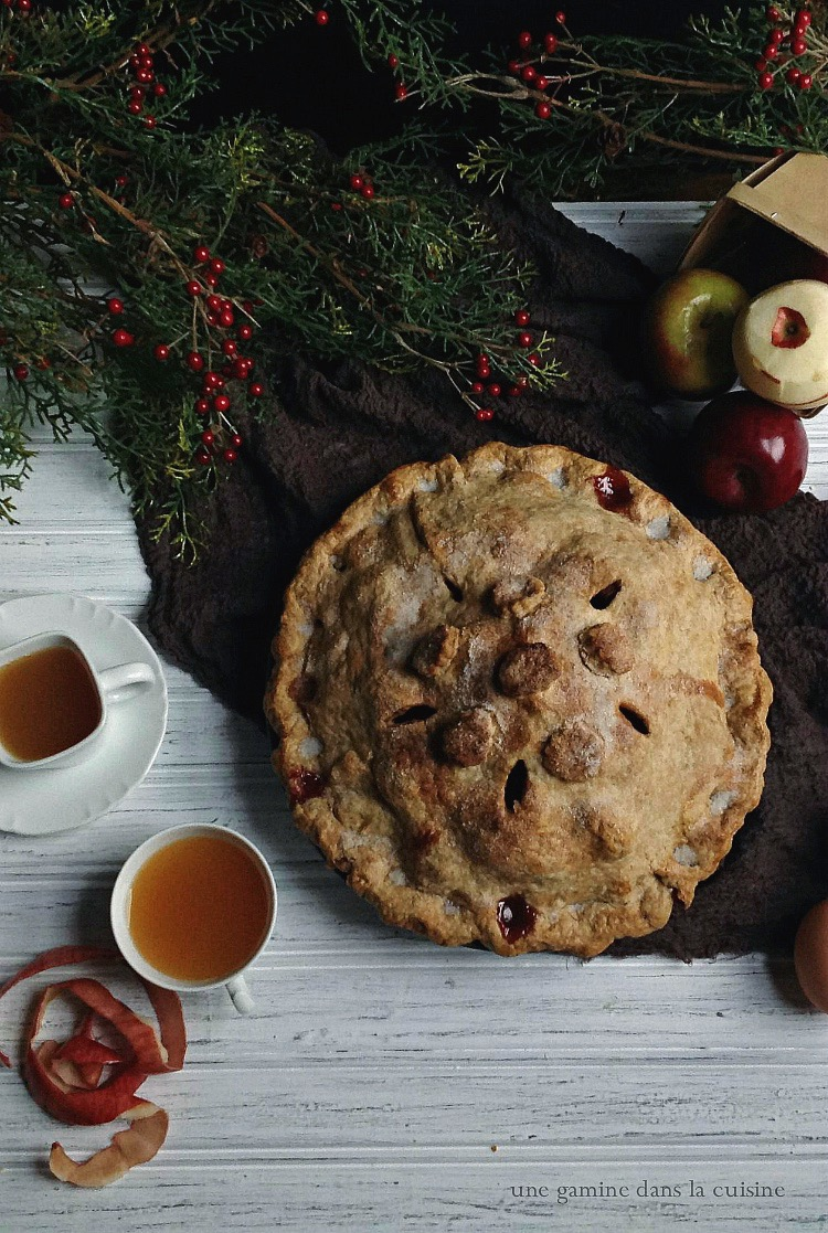 mile-high apple cranberry pie | une gamine dans la cuisine