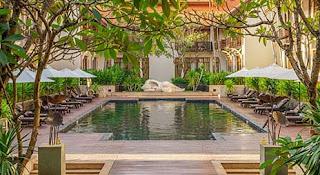 Source: Anantara Angkor Resort website. View of the exterior.