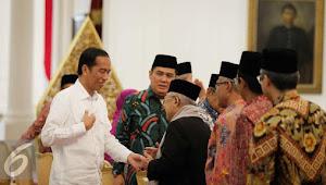 Jadi Cawapres, Maruf Amin: Semoga Suara Sumbang Ke Jokowi Hilang