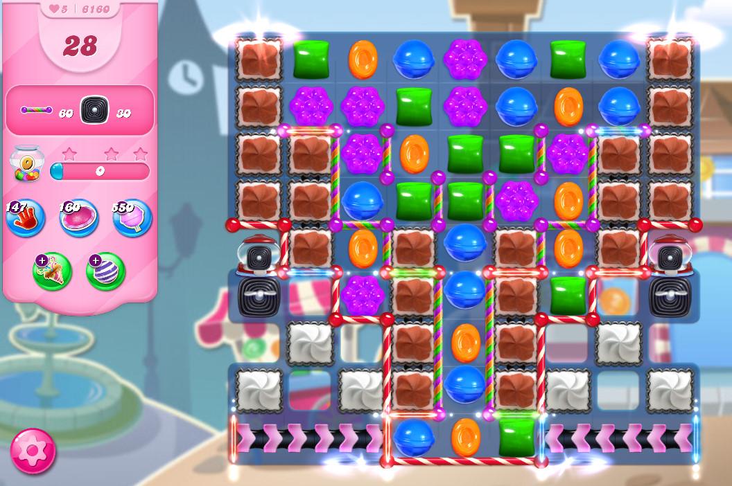 Candy Crush Saga level 6160