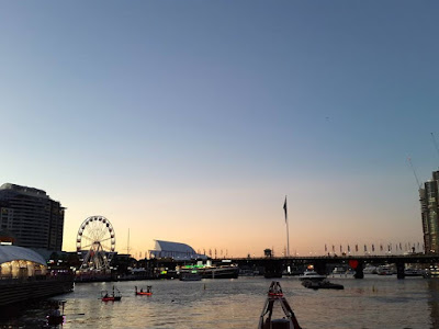 13D12N Australia Trip: Watching sunset at Darling Harbour, Sydney