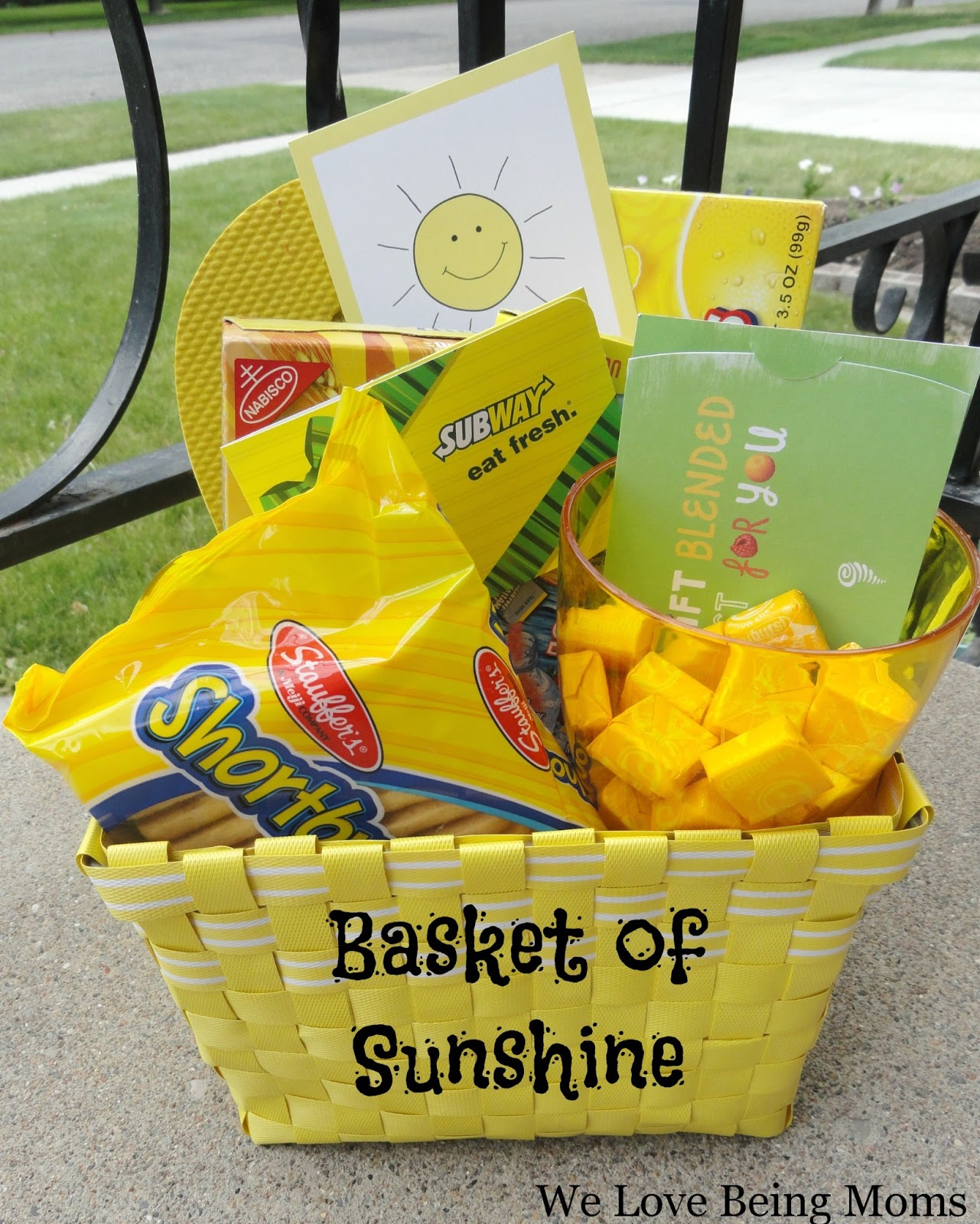 image regarding Basket of Sunshine Printable called We Take pleasure in Remaining Mothers!: Basket of Sun
