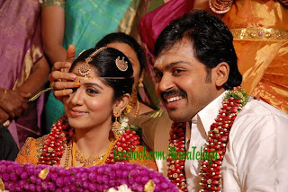 Tamil Actor Karthi Marriage pics