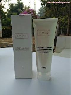 Lavine clarity cleanser