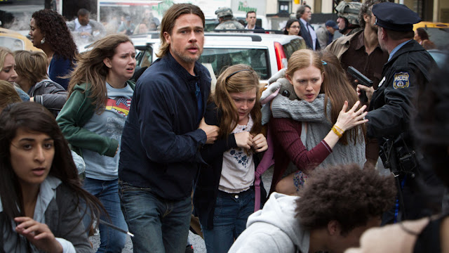World War Z Panic and Pandemonium| A Constantly Racing Mind
