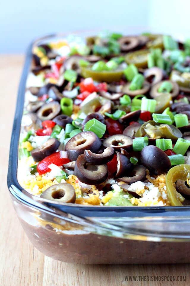 7 Layer Black Bean Dip Recipe