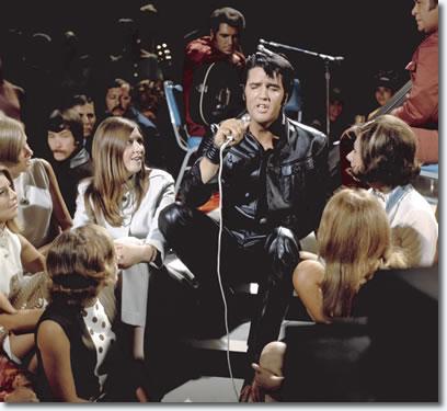 foto elvis comeback special 68
