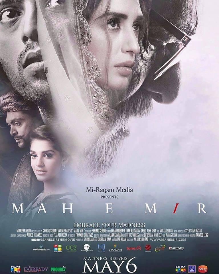 Mah-e-Mir 2016 Urdu Movie 400MB HDRip 480p