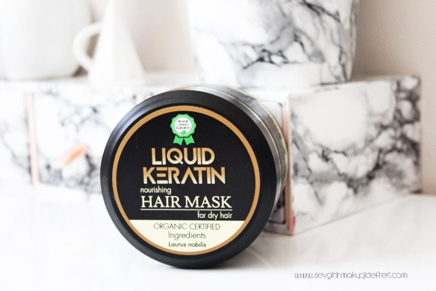 Liquid Keratin Mask