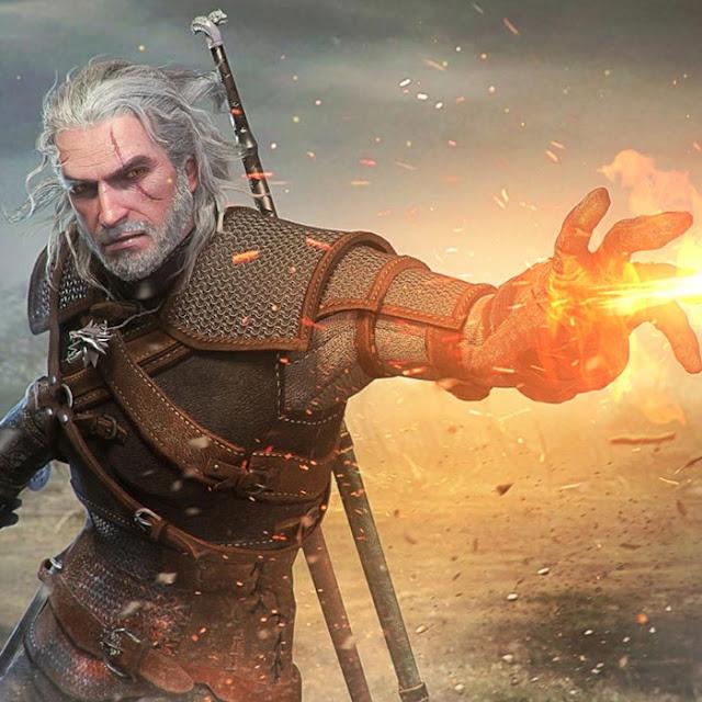 Geralt Igni Wallpaper Engine