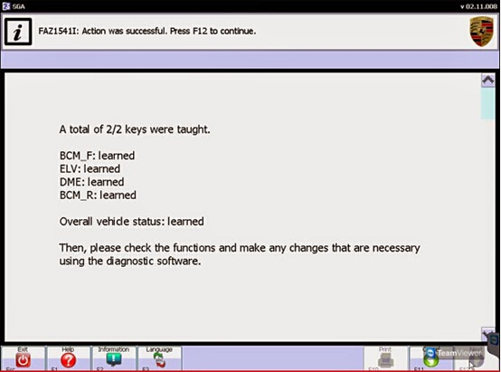 Program Panamera key with Porsche PIWIS Tester 2 diagnostic tool