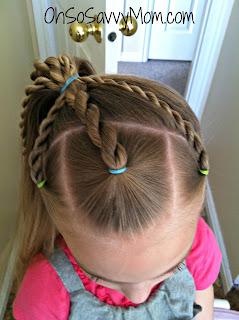 3 Rope Braids hair tutorial