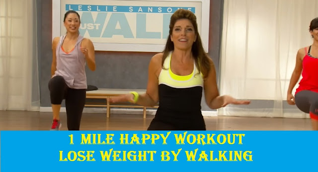Doing the 1 Mile Happy Walk in 15 minutes | Lose weight by walking