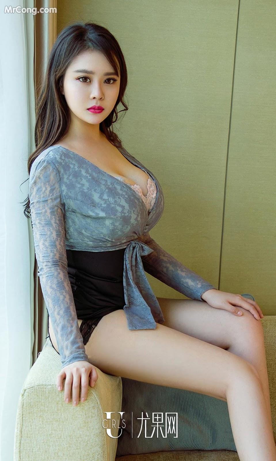 Image UGIRLS-Ai-You-Wu-App-No.1092-Yang-Xuan-Er-MrCong.com-003 in post UGIRLS – Ai You Wu App No.1092: Người mẫu Yang Xuan Er (杨宣儿) (35 ảnh)